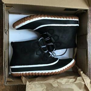 New Sorel Boots, Leather, Waterproof, 10